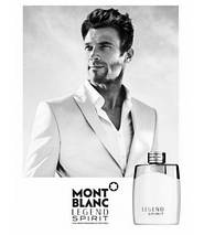 Mont Blanc Legend Spirit туалетная вода 100 ml. (Тестер Монблан Легенда Спирит), фото 2