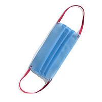 Маска  защитная немедицинская, сертификат, спанбонд 3-слойная 25 микрон, от 100 шт