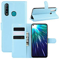Чехол-книжка Litchie Wallet для Vivo Z5X / Z1 Pro Blue