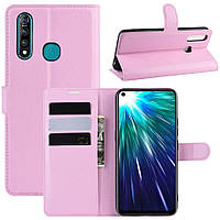 Чехол-книжка Litchie Wallet для Vivo Z5X / Z1 Pro Pink