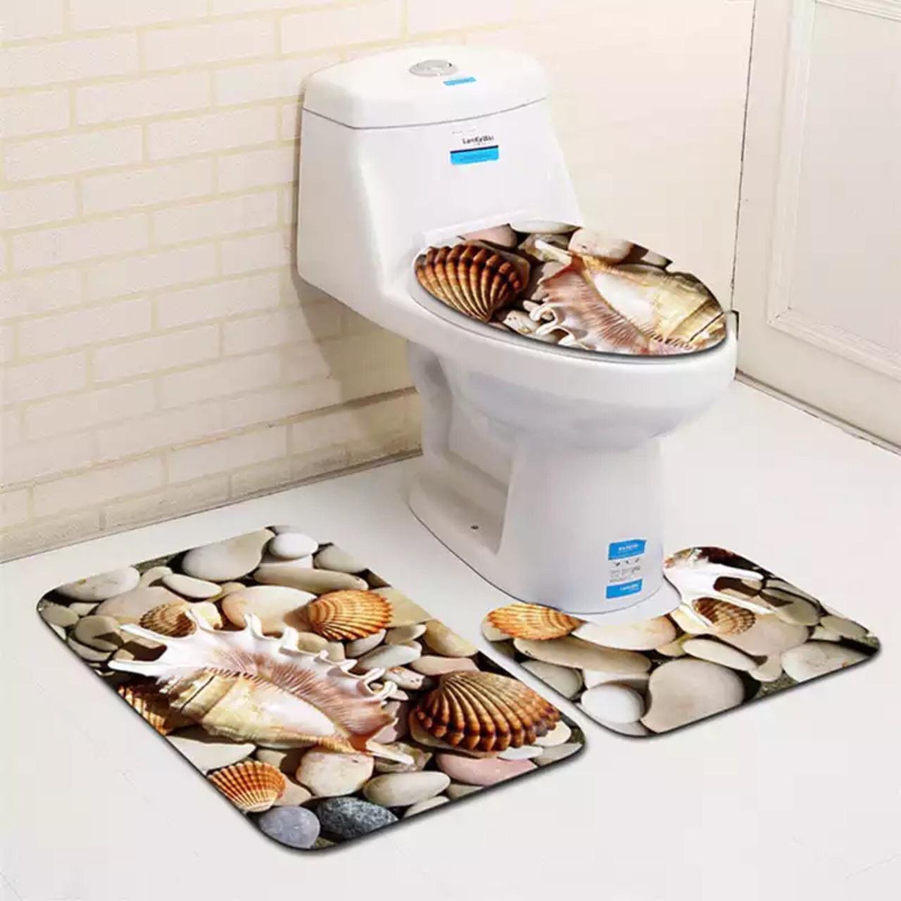 Коврики для ванной и туалета комплект купить скатерть иваново от производителя