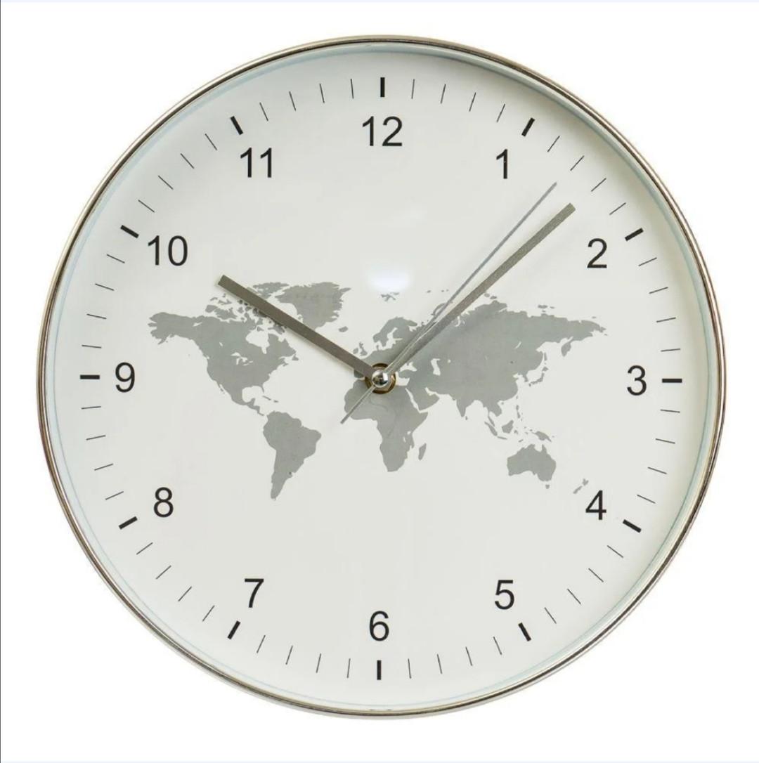 Часы настенные Veronese География 30 см 12003-005