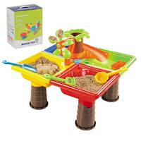 Игровой столик-песочница Мerconcer Toy 25 предметов