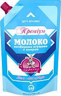 Молоко сгущенное 8.5% цельное с сахаром Премиум Заречье д/п 450 г.