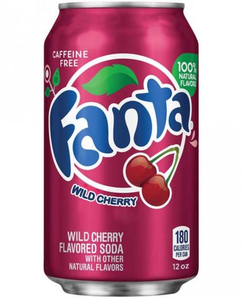 Fanta Wild Cherry Фанта Вишня