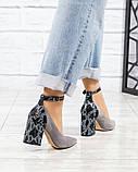 Шикарные туфли на каблуке на ремешке, фото 6