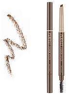 Автоматический карандаш Missha Perfect Eyebrow Styler Brown, фото 1
