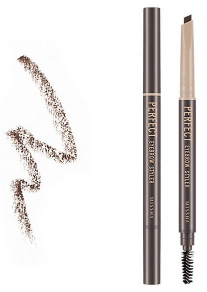 Автоматический карандаш Missha Perfect Eyebrow Styler Dark Brown