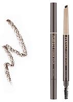 Автоматический карандаш Missha Perfect Eyebrow Styler Dark Brown, фото 1
