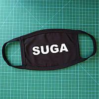 Тканевая сувенирная маска для лица. BTS Suga