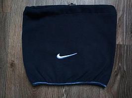 Горловик (бафф)  Nike на флисе темно-синий реплика