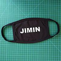 Тканевая сувенирная маска для лица. BTS Jimin
