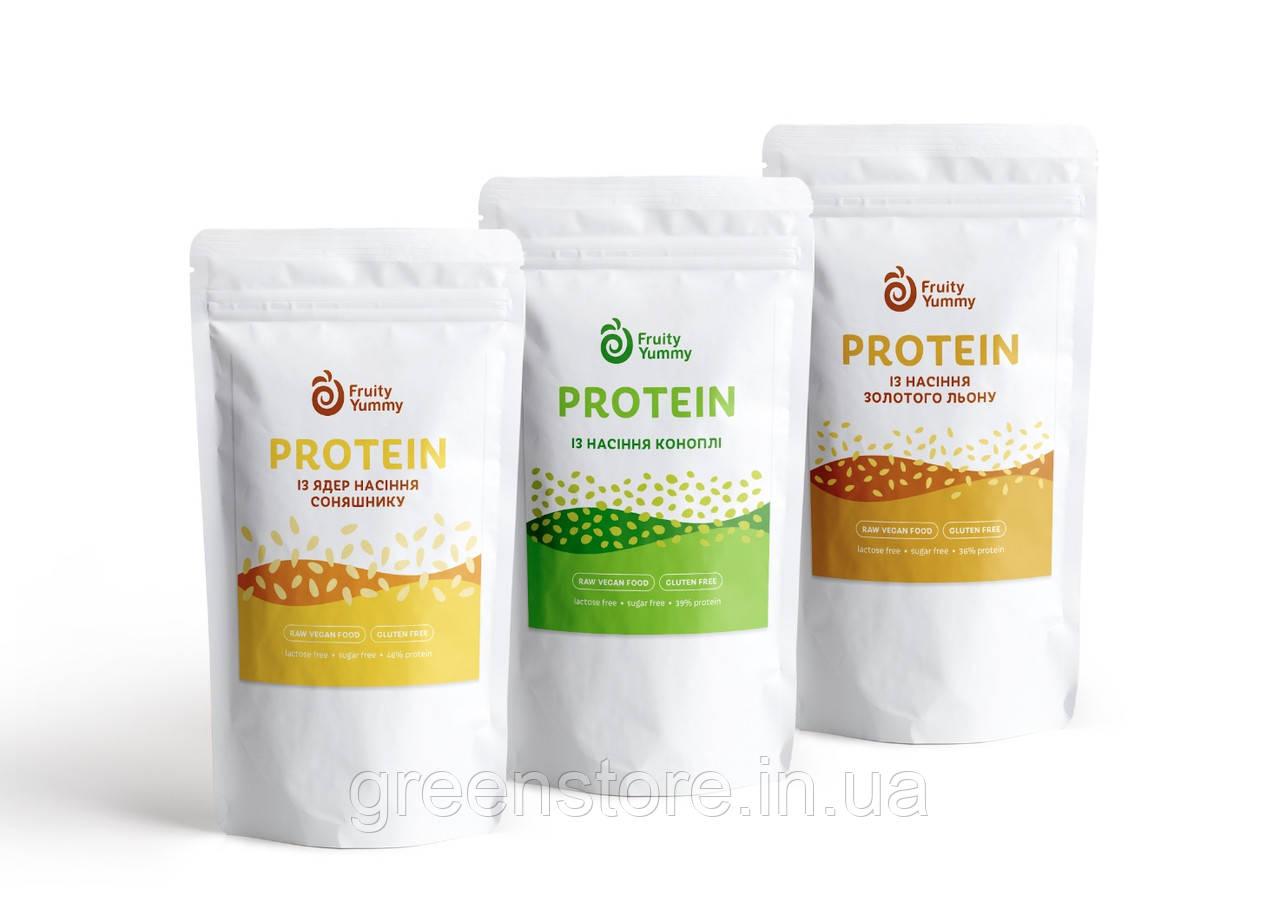 Протеїн з ядер насіння соняшнику