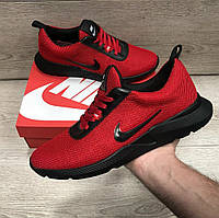 Кроссовки мужские беговые красные Nike