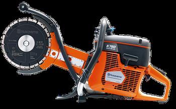 Бензорез Husqvarna K760 Cut-n-Break EL 35, мощность 5,0 л.с., диск 230 мм, глубина реза 400 мм