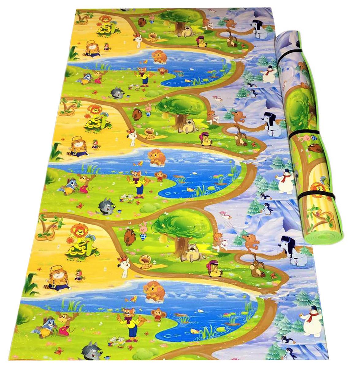 Детский игровой коврик «Винни-Пух и друзья» (Союзмультфильм) 2000х1200x8 мм