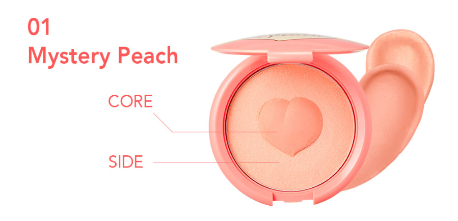 Мягкие кремовые румяна It's skin Colorable Bouncy Blusher 01. Mystery Peach