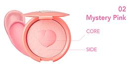 Мягкие кремовые румяна It's skin Colorable Bouncy Blusher 02. Mystery Pink