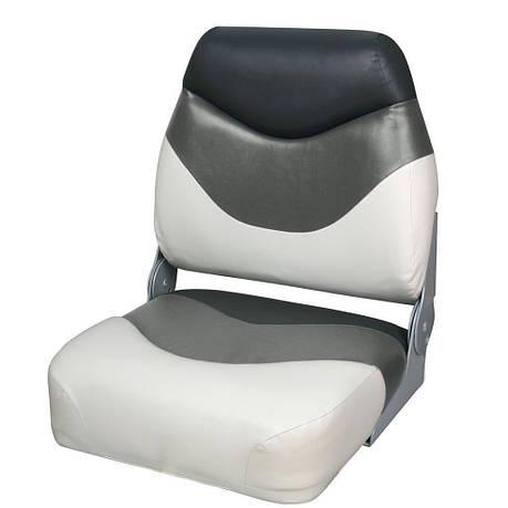 Сидіння складане преміум, низька спинка 75108WGC, фото 2