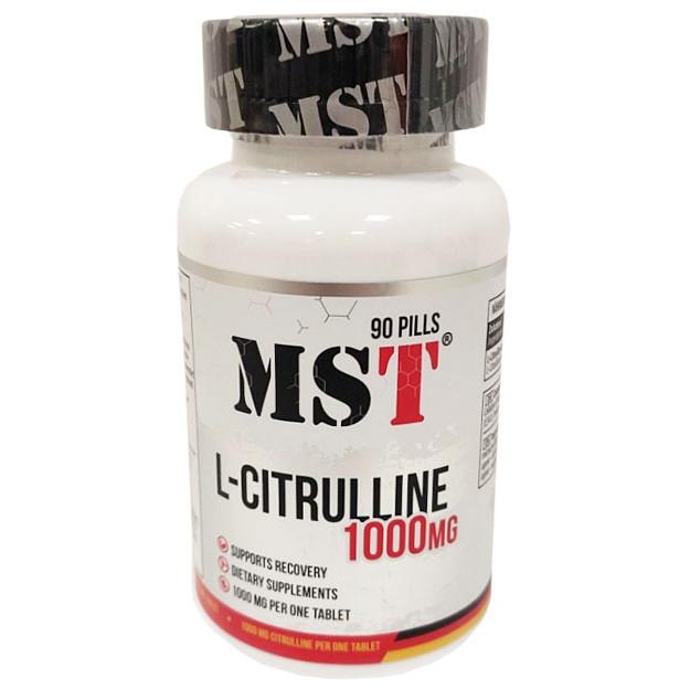 MST L-Citrulline 1000 Mg 90 таб