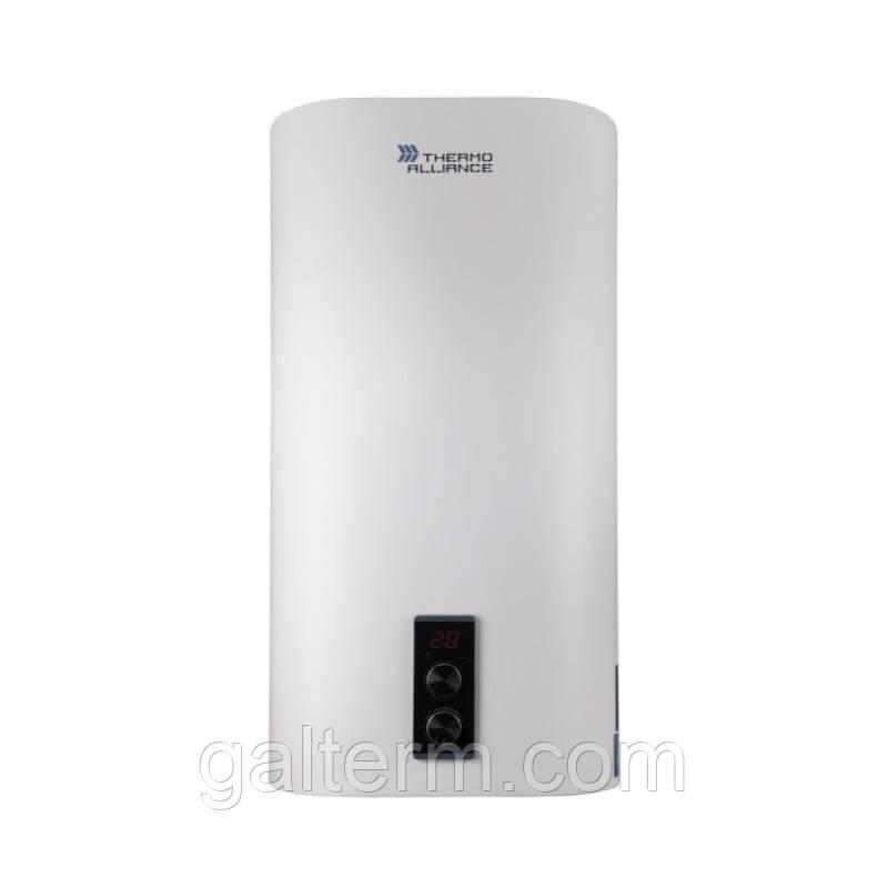 Бойлер Thermo Alliance 100л (0.8 + 1.2кВт, сухий тен, вертикальний, плоский)