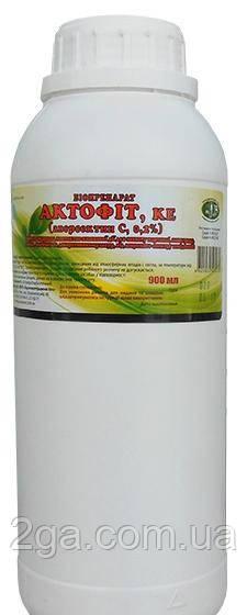 Актофіт - інсектицид, Укрзооветпромстач, 900 мл