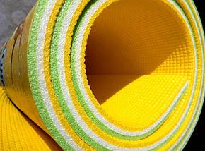 """Игровой коврик для ползания ребенка """"Мадагаскар"""" PREMIUM XL 2000x1200x12мм, фото 2"""