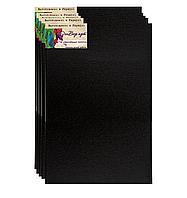 Бавовняне полотно 50*50(бокова натяжка, бавовна,середнє зерно, колір чорний, )