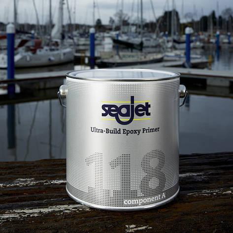 SEAJET 118 ґрунтовка чистова епоксидна захист від осмосу (здуття), срібло 2,21 л, фото 2