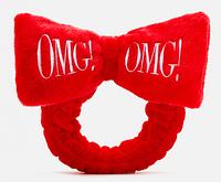 Повязка для волос в стиле пин-ап Double dare OMG! Hair Band Красный, фото 1