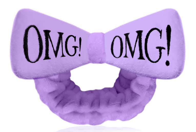 Повязка для волос в стиле пин-ап Double dare OMG! Hair Band Фиолетовый