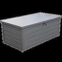 Сундук металлический Palladium 0.6 серебро Duramax