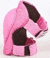 Защита для роллеров Zelart Sport Stylish Pink детская-подростковая, фото 3