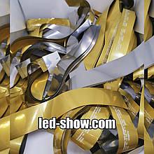 Бумага для ШОУ. Светлое Золото-Серебро. 95% чистоты, 1й сорт.