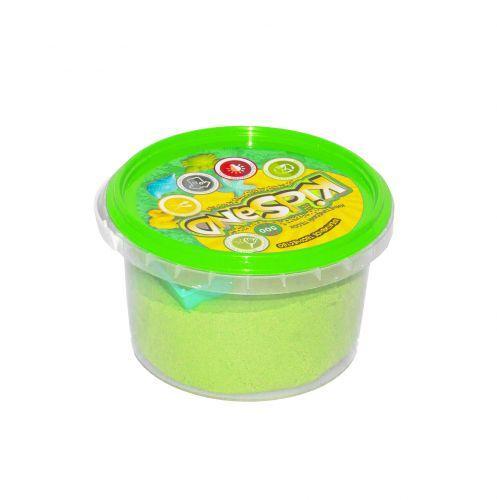"""Кинетический песок """"KidSand"""", зеленый, 500 г  sco"""