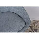 Стул поворотный Toledo (Толедо) рогожка бледно-бирюзовый, фото 4
