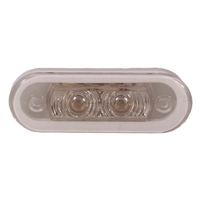 Палубний світильник ААА 00159-WH 0,4 Вт світ білий