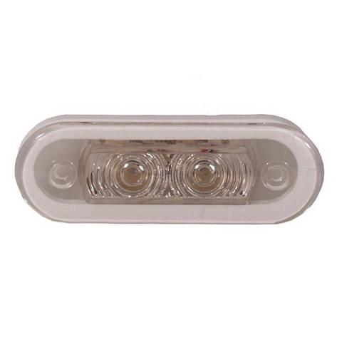 Палубний світильник ААА 00159-WH 0,4 Вт світ білий, фото 2