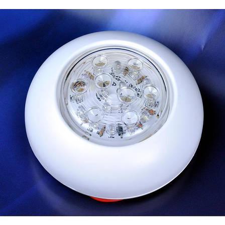 Светильник LED включение нажатием 00165-WH, фото 2