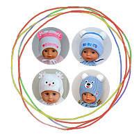 Шапочки для новорожденных и малышей до 3 лет