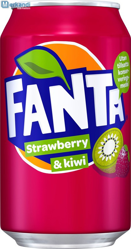 Fanta Strawberry & Kiwi Фанта Клубника Киви