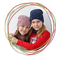 Демисезонные шапки на девочек от 2 года и до 18+