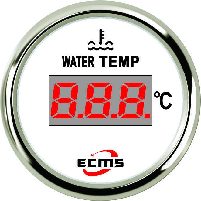 Цифровий датчик температури води ECMS (білий)