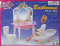 Мебель для Барби 2316 ванная комната