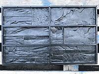 "Форма для декоративного камня и плитки ""Марсель"" на 6 плиток, резиновая"