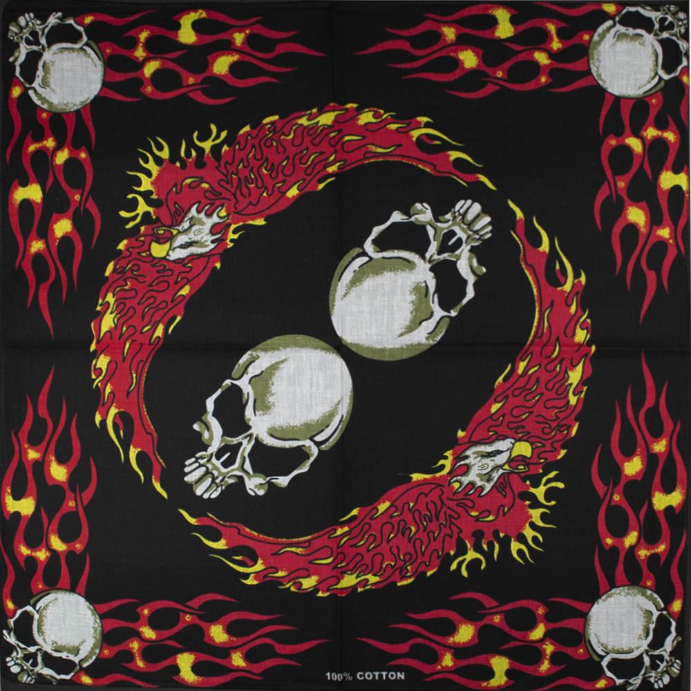 Бандана BAN-073 Skulls and Eagles