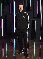 Мужской спортивный костюм с лампасами, спортивный костюм с капюшоном Jordan, Реплика