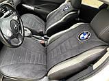 Автомобільні накидки на сидіння з алькантари, фото 6