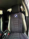 Автомобільні накидки на сидіння з алькантари, фото 7
