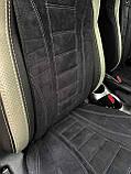 Автомобільні накидки на сидіння з алькантари, фото 10